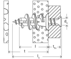 100 tacos de di/ámetro 5 mm herramienta de colocaci/ón Taco sint/ético para placa yeso GK Fischer
