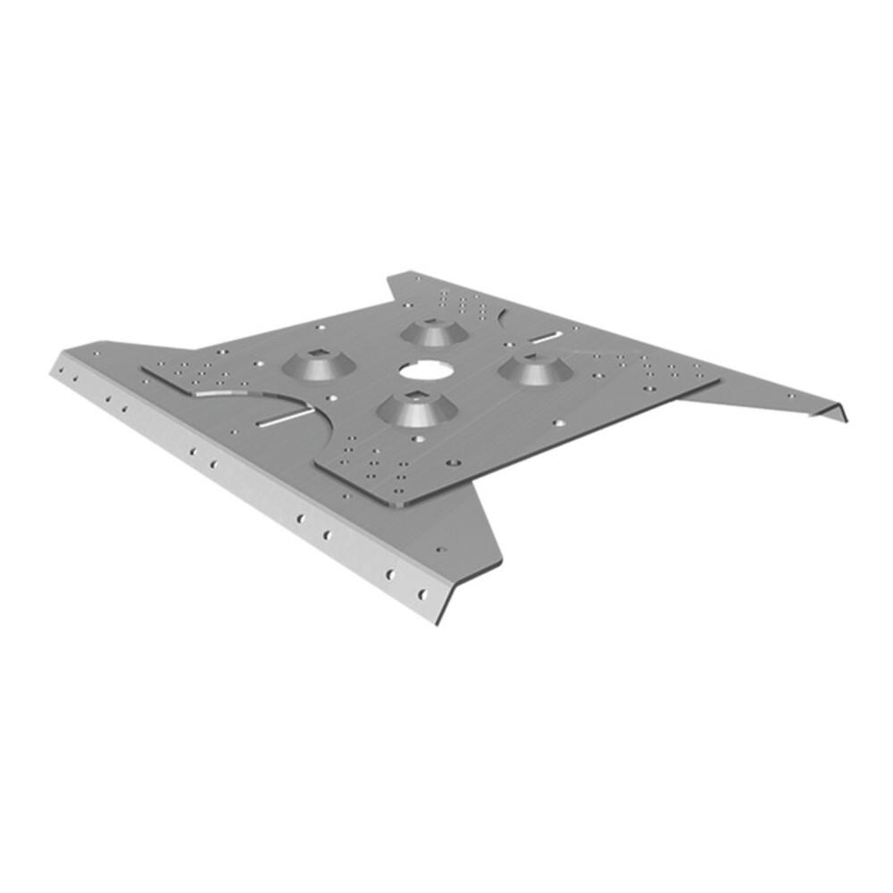 Piastra per lamiera metallica PG 206-315 C