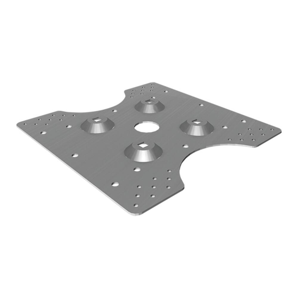 Piastra per lamiera metallica PGC C