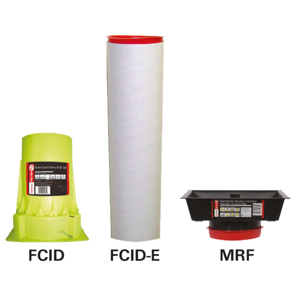 Πυράντοχες εγκιβωτιζόμενες οδεύσεις σωλήνων FCID