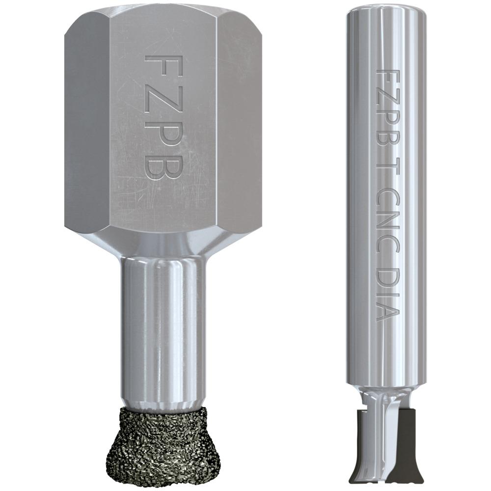Undercut drill bits CNC
