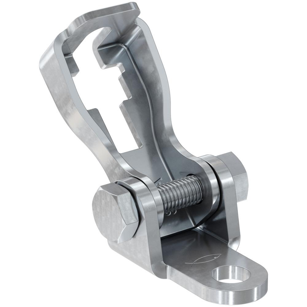 Threaded rod brace connector S-VA